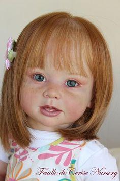 FEUILLE DE CERISE NURSERY - Reborn baby toddler kit Bonnie Linda Murray doll | eBay