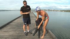 How To Fit Your Wetsuit Properly With Paul Newsome (And Janine!) From Sw...