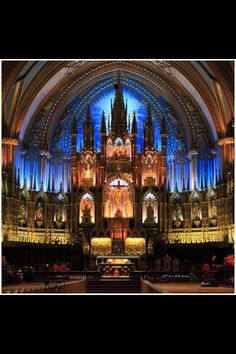 Notre Dame Cathedral, Old Montreal