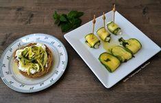 Ωμά μαριναρισμένα κολοκυθάκια - cretangastronomy.gr Guacamole, Cooking Tips, Zucchini, Mexican, Ice Cream, Snacks, Vegetables, Breakfast, Ethnic Recipes