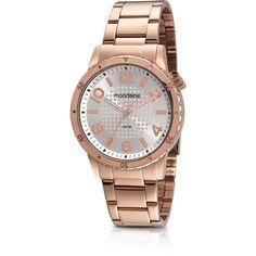 Relógio Analógico Feminino Rosê Mondaine - 60438LPMFRA2 -Moda - Relógios - Walmart.com