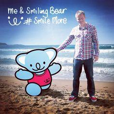 Smiling Bear & Guy on their local beach. #smilingbear #smilemore #koala #koalabear #bear #smile #smiling #happy #cute #kawaii #australia #sydney #beach #art #fashion #design #illustration #characterdesign #fun #iphonesia #japan #kawaiigurls #kawaiioftheday #photooftheday #iphoneography #iphoneonly #instafamous #ig #jj #teg #smilemore #koala #koalabear #bear #smile #smiling #happy #cute #kawaii #australia #sydney #beach #art #fashion #design #illustration #characterdesign #fun #iphonesia…