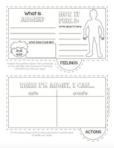 kid anger management activities | Effective Anger Management for ...