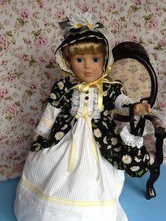 American Girl 18 inch Doll Dress Historical Daisy by PeekabooPorch, $24.95