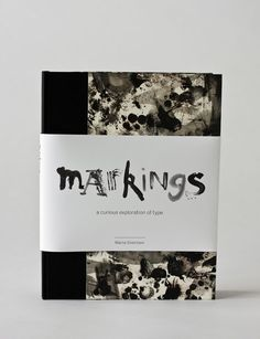 Markings // Experimental Typography & Book Design by Marta Sivertsen, via Behance Magazine Design, Presentation Format, Design Brochure, Buch Design, Print Design, Graphic Design, Editorial Design, Inspire Me, Cover Design