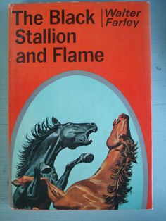 Vintage Book The Black Stallion and Flame by MissingHeirloom, $24.00