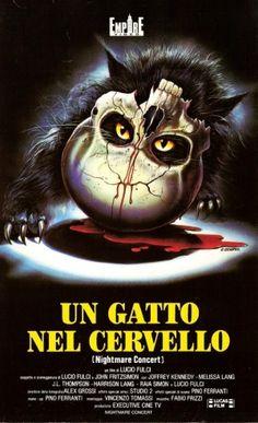 Un gatto nel cervello (Cat in the brain) - Original title: Un gatto nel cervello - Directed by: Lucio Fulci - Country: Italy - Release date: 1990