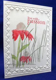 DTGD12Va.Sunshine Inspired by Nature Poppy Limeade by fauxme - Cards and Paper Crafts at Splitcoaststampers