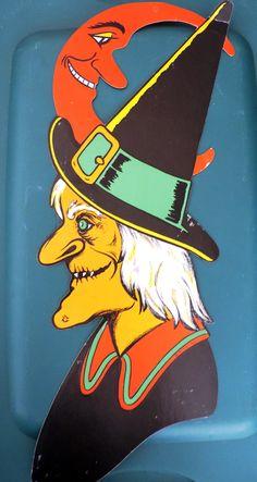 Halloween Art, Halloween Stuff, Vintage Halloween Decorations, Vintage Witch, Cl, Princess Zelda, Cosplay, Costumes, Fictional Characters