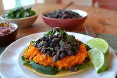 Vegan Sweet Potato Tacos