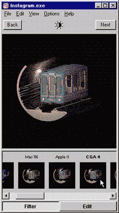 Instagram Windows 95