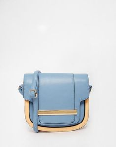 Buy ASOS Saddle Bag In Colour Block at ASOS. Get the latest trends with ASOS now. White Shoulder Bags, Shoulder Strap Bag, Purses For Sale, Purses And Bags, Satchel, Crossbody Bag, White Handbag, Mini Handbags, Bag Sale