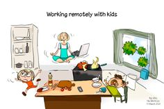 As a result of the Coronavirus outbreak, millions of schools around the globe have been closed while parents have been asked to work from home, which can leave them in some chaotic situations. By chaotic, I mean trying desperately to balance the demands of work life and home life while being incapable of quieting their… The post Cartoon of the Week: Working remotely with kids during the Coronavirus outbreak appeared first on eXo Platform Blog.