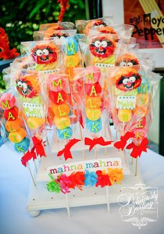 Great Muppet Show favors #muppetshow #partyfavors