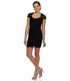 Jump Lace Sheath Dress #Dillards
