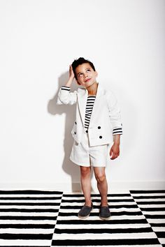 My Little Dress Up SS14  Oliver jacket ✭  Donnie shorts