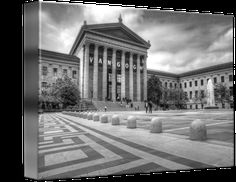 """""""Philadelphia+Art+Museum""""+by+Christian+Carollo,+Philadelphia+//++//+Imagekind.com+--+Buy+stunning+fine+art+prints,+framed+prints+and+canvas+prints+directly+from+independent+working+artists+and+photographers."""