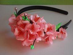 Сердце из лепестков Канзаши (мастер класс) / Kanzashi Valentine's day - YouTube