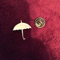 umbrella pin  cute little fun pin. 0 damage. Jewelry Brooches