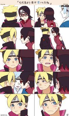 Borusara moment Anime y Movie. Naruto And Sasuke, Anime Naruto, Anime Ninja, Naruto Cute, Sakura And Sasuke, Sakura Haruno, Naruko Uzumaki, Tenten Y Neji, Sarada E Boruto
