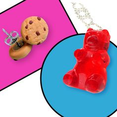 Sinlessly Sweet Jewelry: Quirky Confections & Juicy Gems