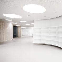 Sala de lectura de una biblioteca