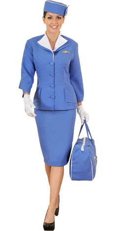 1960s Flight Attendant Costume