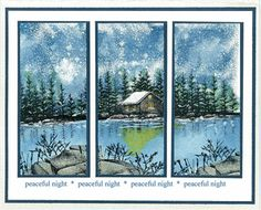 Stampscapes ideas  TONS of card ideas here