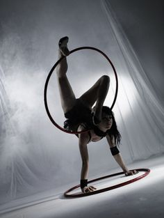 "Yes! Balance +hoop...on my ""to do"" list for class.."