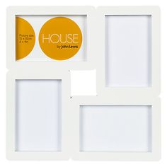 """Buy House by John Lewis 4-Photo Aperture Frame,  4 x 6"""" (10 x 15cm) Online at johnlewis.com"""