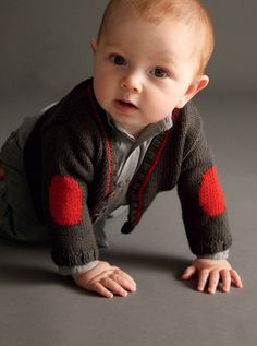 Elbow Patches Cardi, Baby Boy Knits, Toddler Knit Coat, Newborn Knit Coat, Newborn to all Toddler sizes