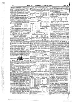 The Gardeners' Chronicle and Agricultural Gazette  1847 Burbridge and Healy Cooking Apparatus and Warming System My 3rd Great Grandfather, William Healy Fleet Street, London
