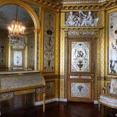 Marie-Antoinette's boudoir, Fontainebleau