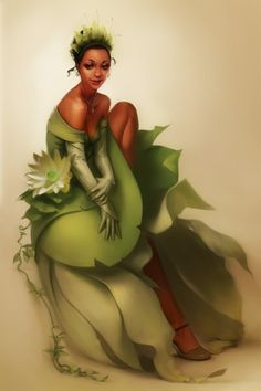 Princesses Fanarts - Tiana (looks like a photo!)