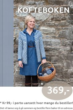 The book of Norwegian hand-knitted jackets, Kofteboken - Den store Koftejakten