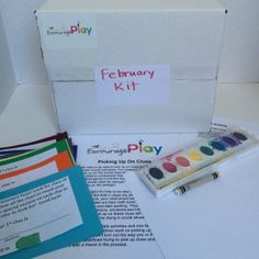 Encourage Play Monthly Play Kits  - Help your kids learn social skills through play!