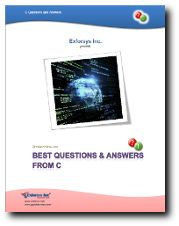 This Best Questions and Answers From C PDF contains 39 question and answers.