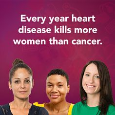 Heart disease claims more women each year than all forms of cancer put together. Regular heart screenings reduce your risk and aid in your long-term health. http://sistertosister.org/