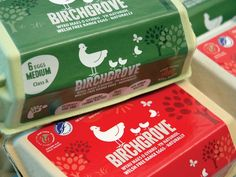 Birchgrove Eggs Packaging