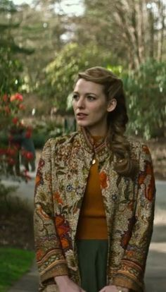 Blake Lively from the movie The Age of Adaline. Is that batik that she wear?