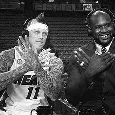 #NBA Birdman #Chris Andersen #Shaq #Miami Heat                                                                                                                                 ...