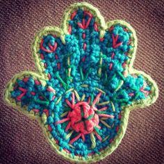 Hamsa crochet