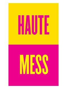 Haute Mess by Christopher Lee Sauv_ (Canvas) by Marmont Hill at Gilt - love it