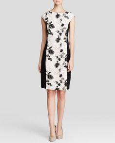 Weekend Max Mara Dress - Fionda Stretch Floral Print | Bloomingdale's