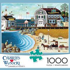 Buffalo Games Charles Wysocki: Clammers at Hodge's Jigsaw Puzzle (1000-Piece) Buffalo Games http://www.amazon.com/dp/B00KMYDUOC/ref=cm_sw_r_pi_dp_gTzkub0NZG272