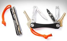 Keysmart carries keys. Klecker Knive's Stowaway Tools are about as small as keys. And so Huckberry's Compact EDC Kit was an inevitability.
