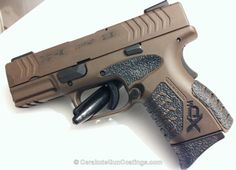 Cerakote Coatings: H-226 Patriot Brown