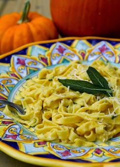 Homemade Pumpkin Sage Pasta | Kitchen Vignettes by Aubergine