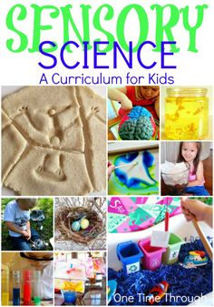SENSORY SCIENCE - A Curriculum For Kids! We've got sensory science activities for learning about Life Systems, Matter and Energy, Structures and Mechanisms, and Earth and Space Systems from the Love to Learn Linky! {One Time Through} #STEM #kids #KBN