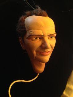 String puppet head